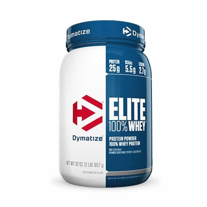 Elite 100% whey protein 940g Dymatize Nutrition