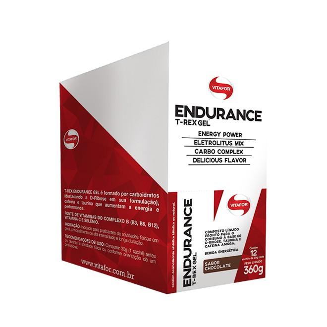 Endurance Gel T-Rex Caixa 24und - Vitafor