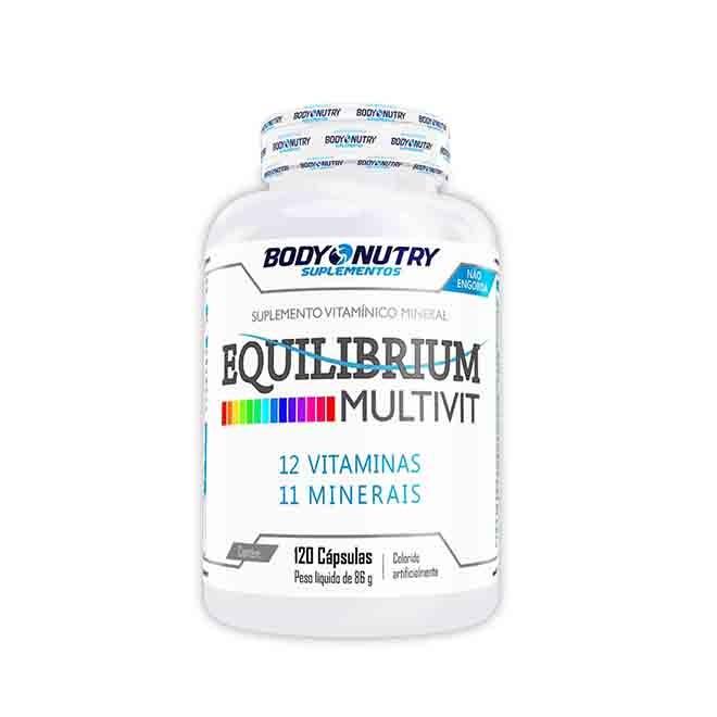 Equilibrium Mult Vit 120 cápsulas - Body Nutry