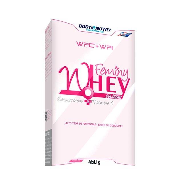 Feminy Whey Caixa 450g - Body Nutry