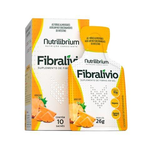 FIBRALÍVIO® CX c/ 10 Sachês (10g Cada) - Nutrilibrium