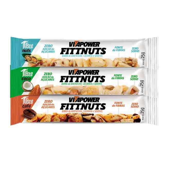 Fittnuts Caixa c/ 12 Und - Vitapower