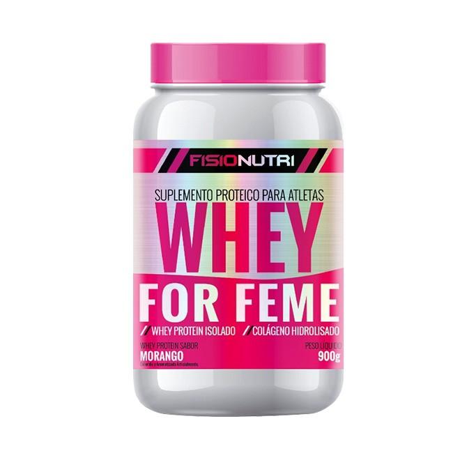 Whey For Femme 900g - Fisionutri