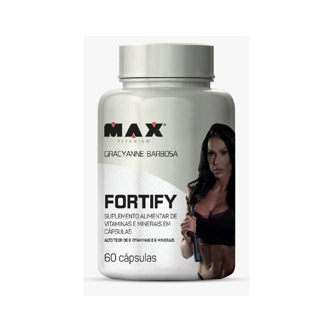 Fortify Multivit (60 Cápsulas) - Max Titanium
