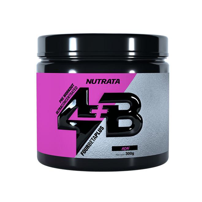4B Pré-Treino FOUR BETA PLUS (300g) - Nutrata