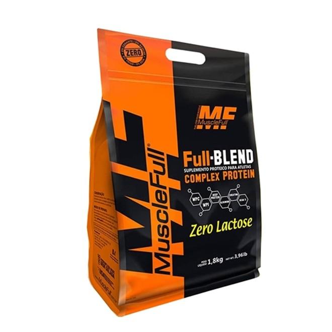 Full Blend Zero Lactose 1.8kg - MuscleFull
