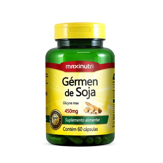 Gérmen de Soja 60 Cápsulas - Maxinutri
