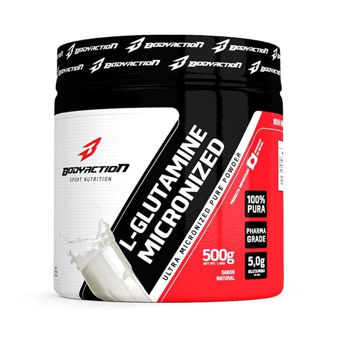 L-Glutamina 500g - Body Action
