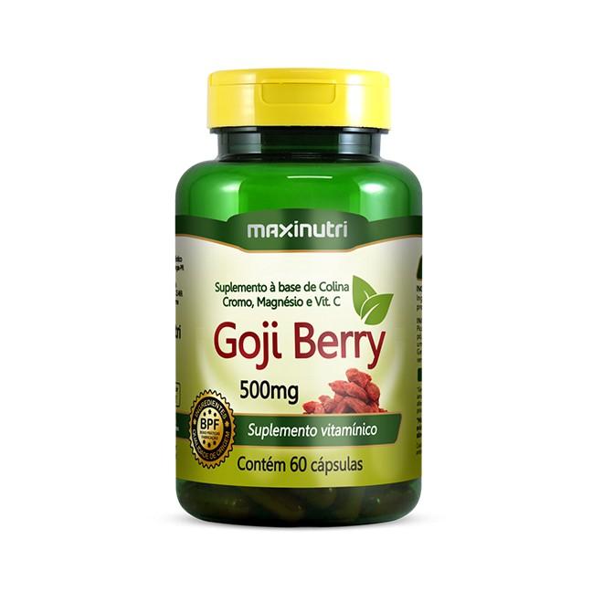 Goji Berry 60 Cápsulas - Maxinutri
