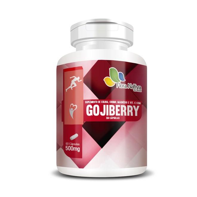 Goijberry 60 Cápsulas - Flora Nativa