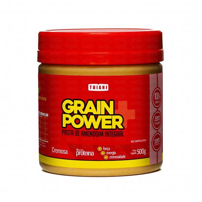 Pasta de Amendoim Cremosa 500g - Grain Power Pasta de Amendoim Cremosa 1,010g - Grain Power