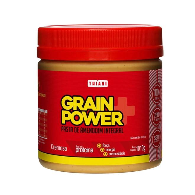 Pasta de Amendoim Cremosa 1,010kg - Grain Power