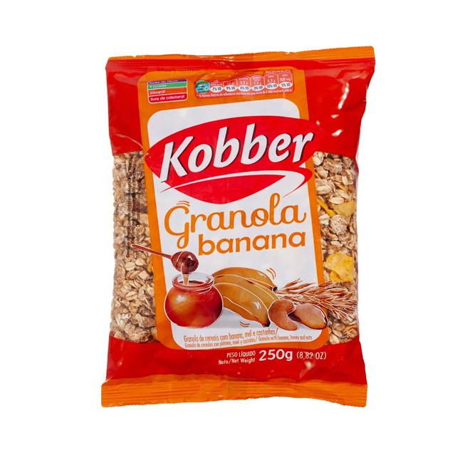 Granola Banana, Mel e Castanhas (250g) - Kobber