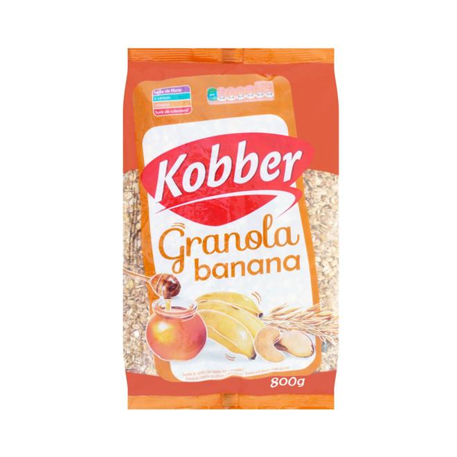Granola Banana, Mel e Castanhas (800g) - Kobber