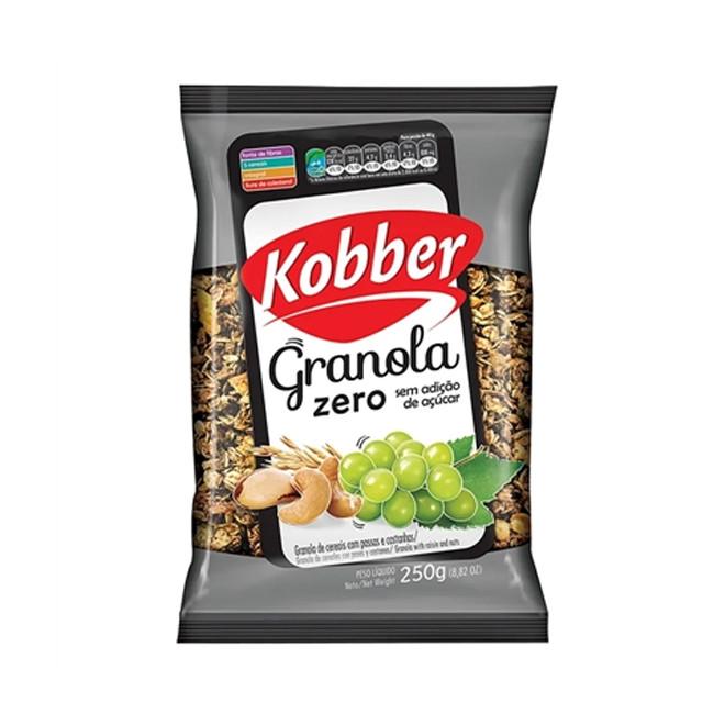 Granola Passas e Castanhas Zero (250g) - Kobber