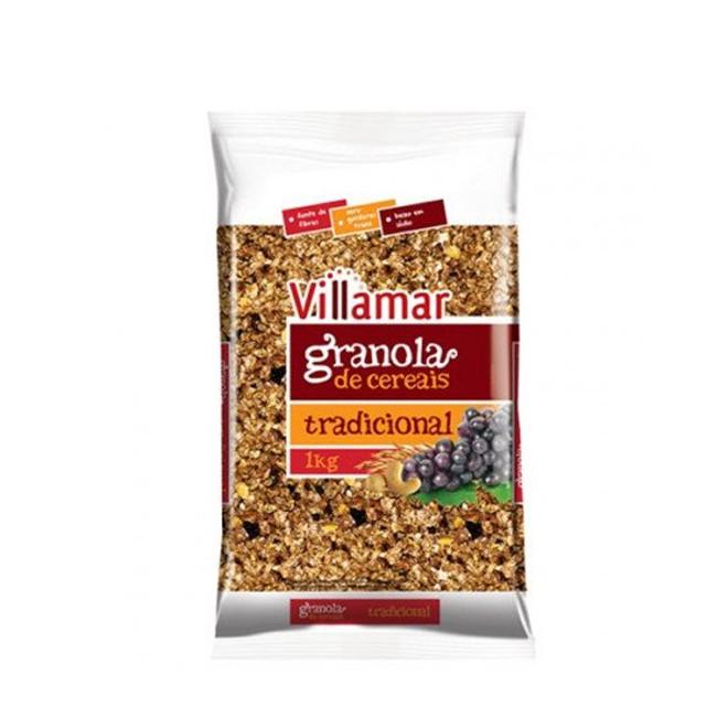 Granola de Cereais Tradicional (1kg) Villamar - Kobber