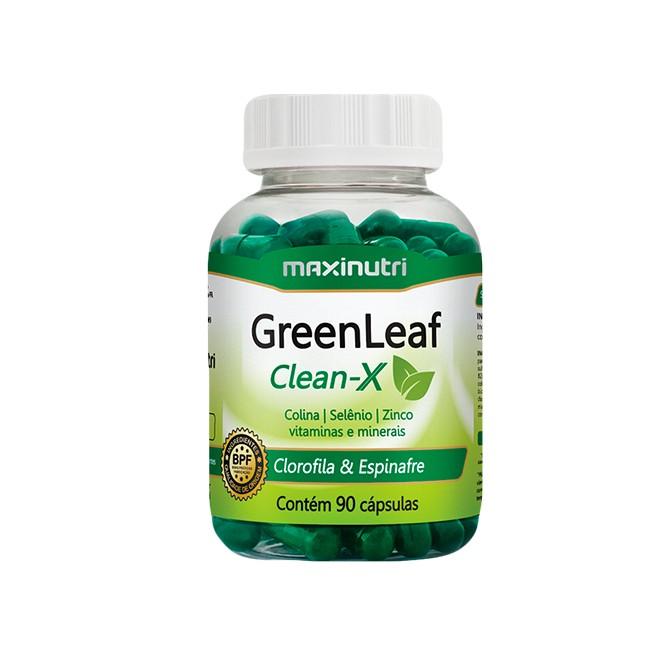 GreenLeaf Clean-X 90 Cápsulas - Maxinutri