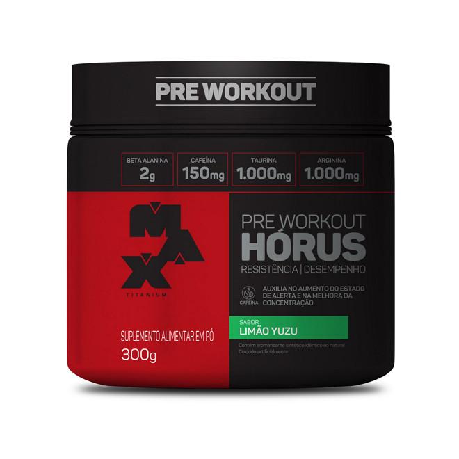 Pré Workout Hórus (300g) - Max Titanium