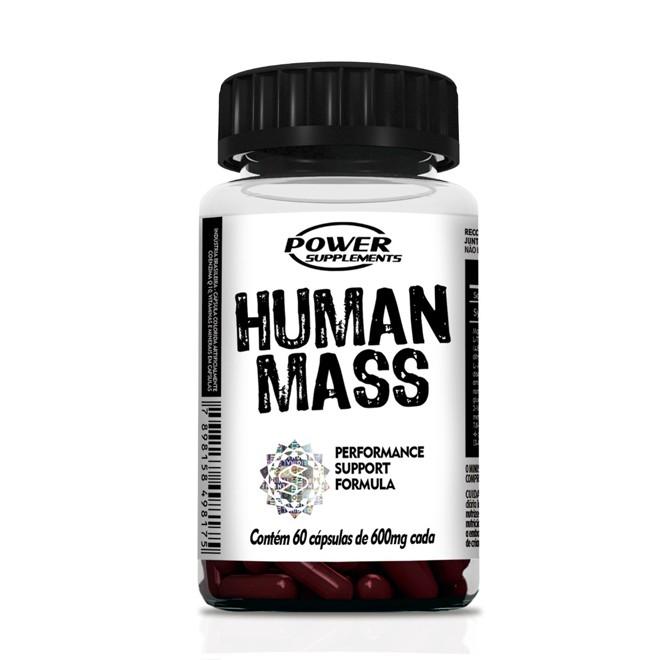 Human Mass 60 Cápsulas - Power Supplements