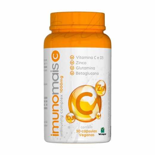 Imunomais C 1000mg (30 Cápsulas) - Nutrilibrium