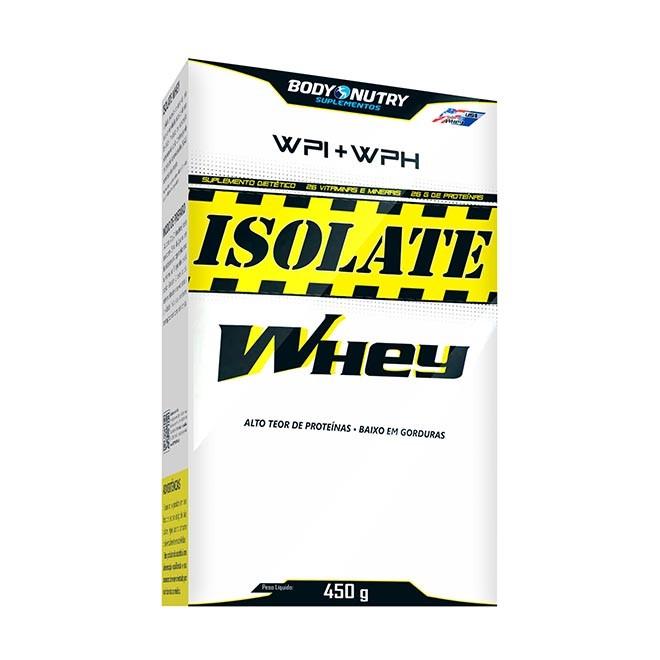 Isolate Whey Caixa 450g - Body Nutry