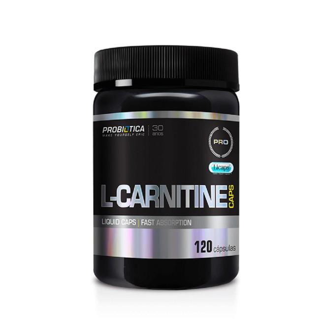 L-Carnitine CAps 120 Cápsulas - Probiotica
