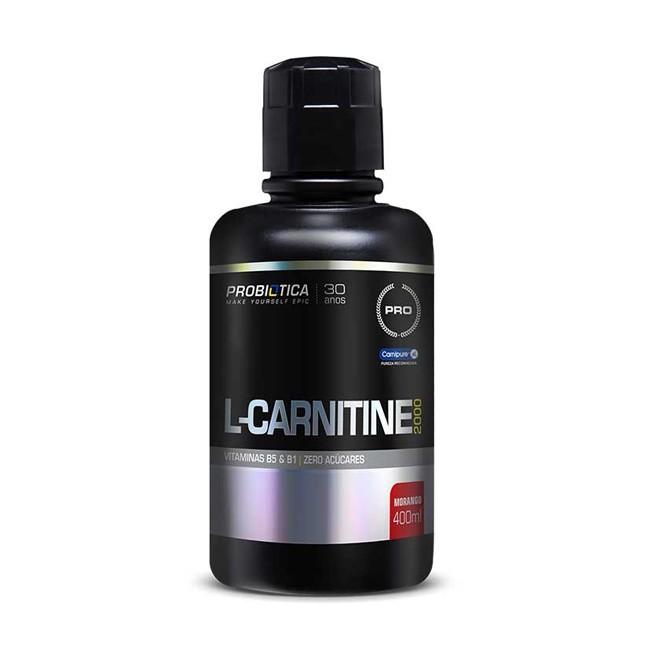 L-Carnitina 2000 400ml - Probiótica