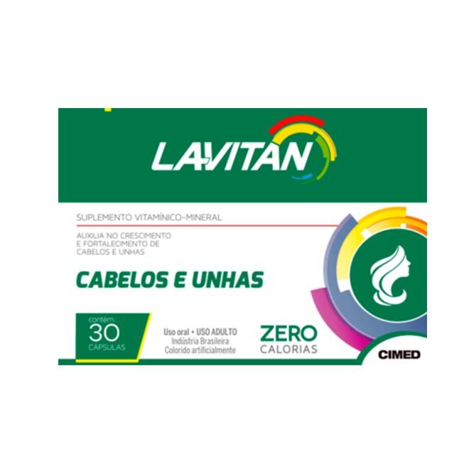 Lavitan Hair - Cabelos e Unhas (60 Cápsulas)