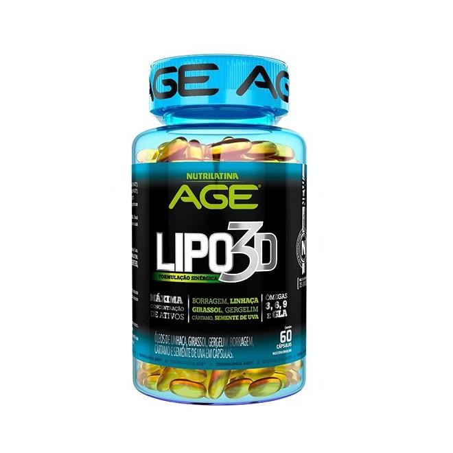 Lipo 3D 60 Cápsulas - Nutrilatina
