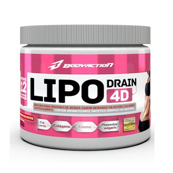 Lipo Drain 4D 100g - Body Action