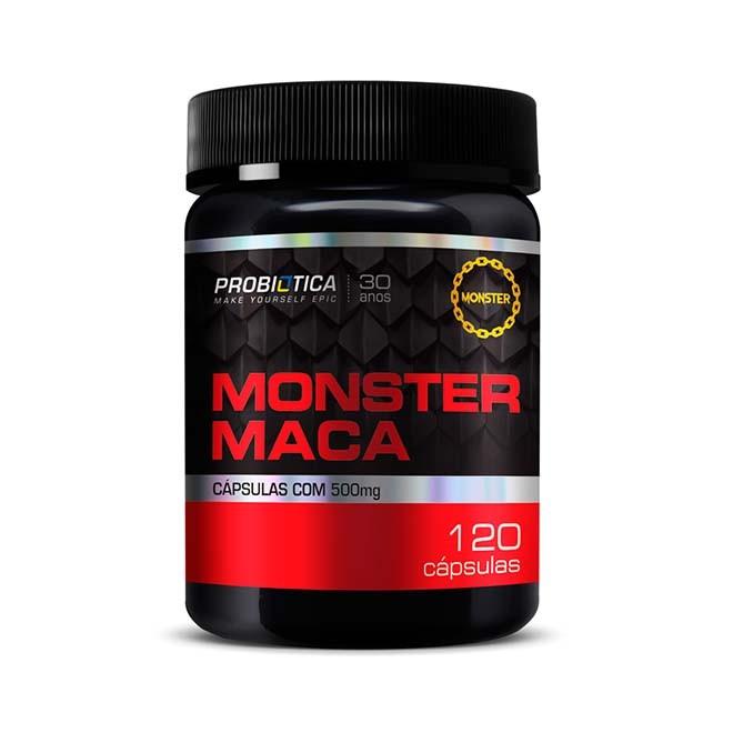 Monster Maca 120 Cápsulas - Probiotica
