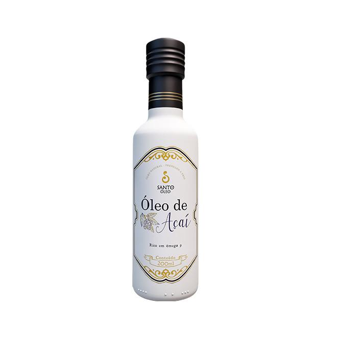 Óleo de Açaí Garrafa (200ml) - Santo Óleo