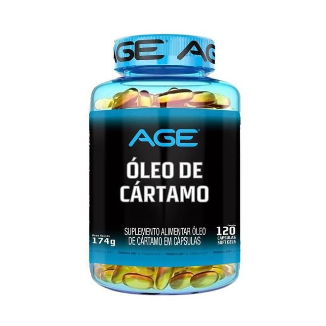 Óleo de Cártamo 120 Cápsulas - AGE
