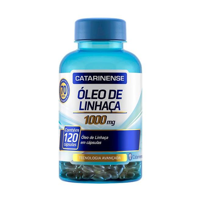 Óleo de Linhaça 120 Cápsulas 1000mg – Catarinense