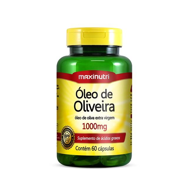 Óleo de Oliveira 1000mg 60 Cápsulas - Maxinutri