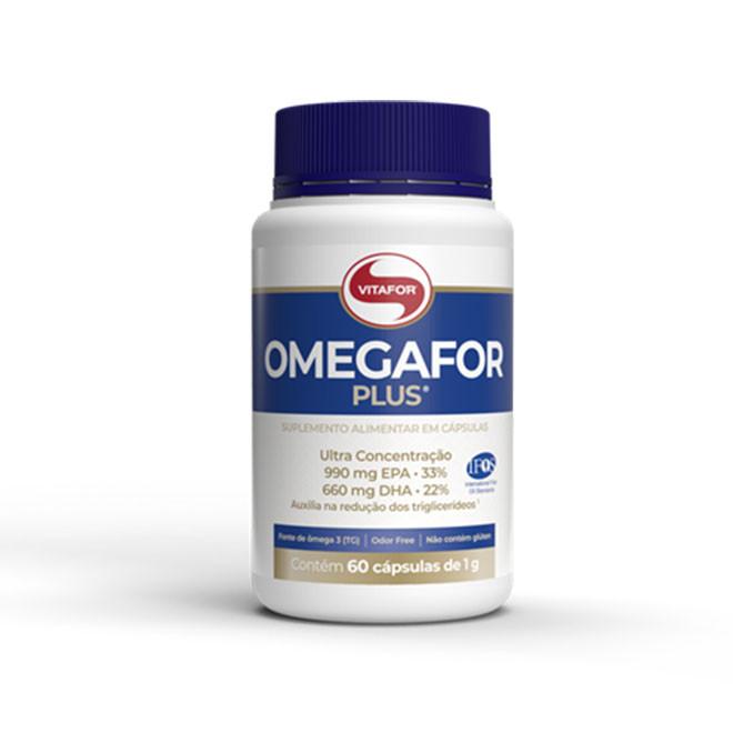 Omegafor 60 Cápsulas - Vitafor