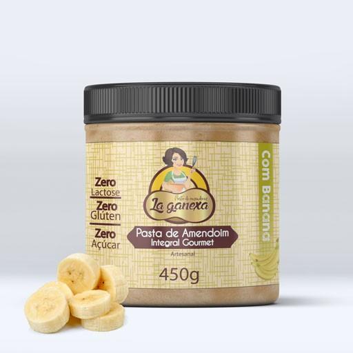 Pasta Amendoim Integral com Banana 1,005kg - La Ganexa