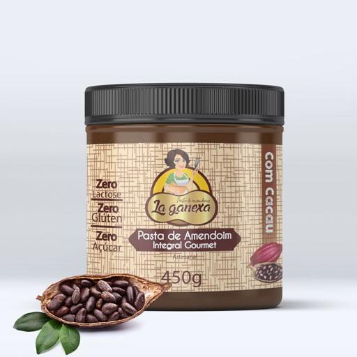 Pasta de Amendoim Integral Gourmet Cacau 1.005kg - La Ganexa