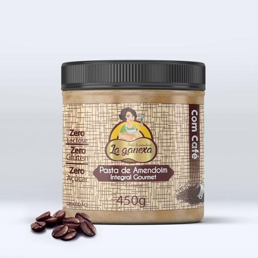 Pasta de Amendoim Integral com Café 1.005kg - La Ganexa