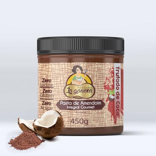 Pasta de Amendoim Integral Trufado de Coco 1.005kg - La Ganexa