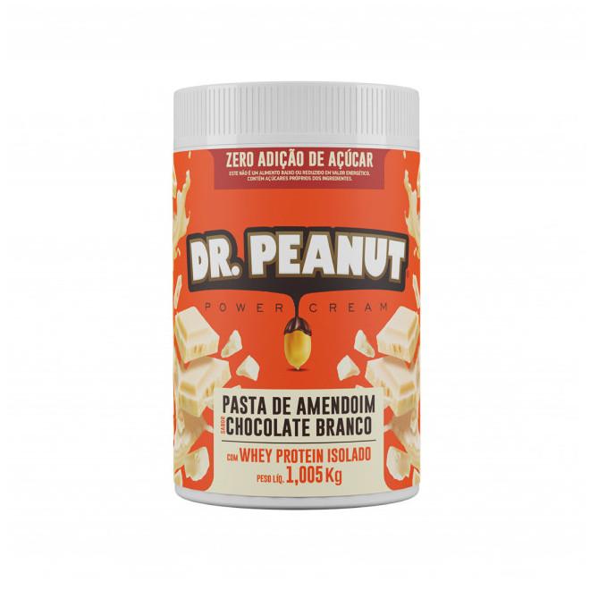 Pasta de Amendoim Chocolate Branco (1,005kg) - Dr Peanut