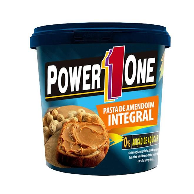 Pasta de Amendoim Integral 1kg - Power1One