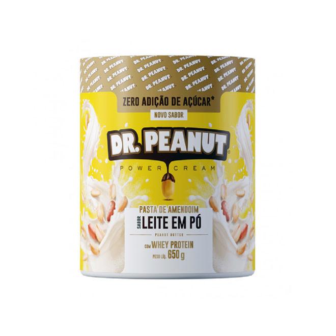 Pasta de amendoim Leite em Pó (650g) - Dr Peanut