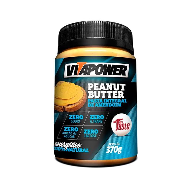 Pasta de Amendoim Integral Doce de Leite 370g - Vitapower