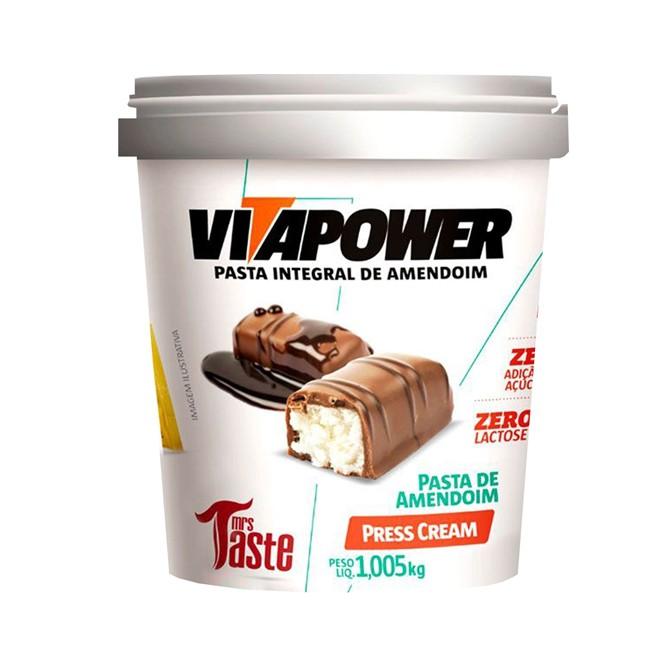 Pasta de Amendoim Press Cream (Prestígio) 1.005kg - Vitapower