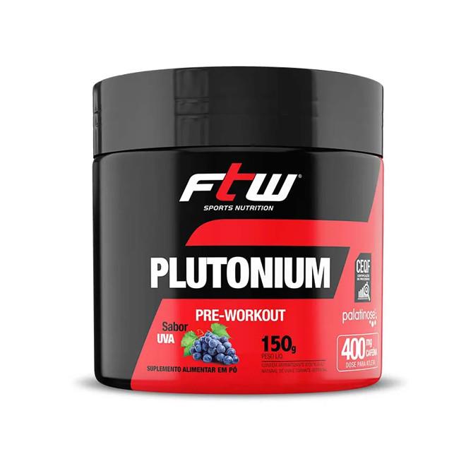 Plutonium Pre Workout 150g Uva - FTW