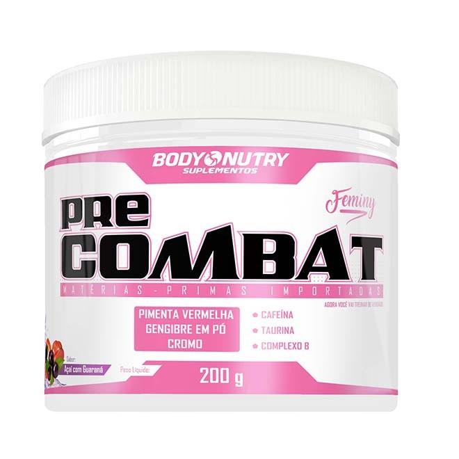 Pré Combat Feminy Açaí com Guaraná 200g - Body Nutry