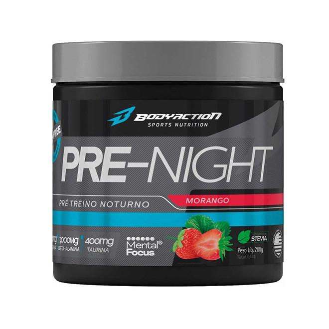 Pré - Night (200g) Pré - Treino Noturno - Body Action
