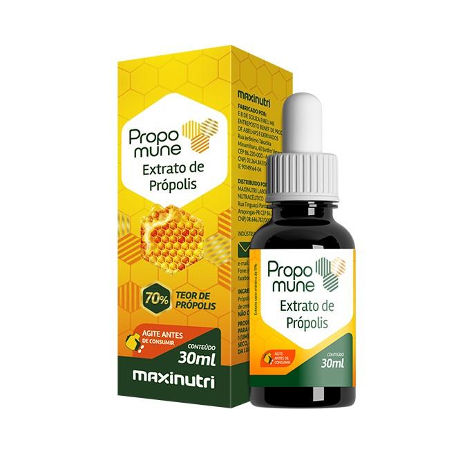 Propomune 70% 30ml Extrato de Própolis Concentrado - Maxinutri