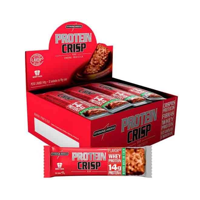 Crisp Bar Caixa c/ 12 Und - Integralmedica